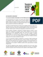 Boletín No. 2 Red de Actrores Del Cauca