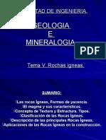 Tema v Clasificaco Rochas- Geologia e Mineralogia
