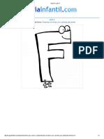 Imprimir Letra F