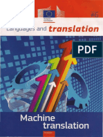 Languages and Translations. Machine Translations