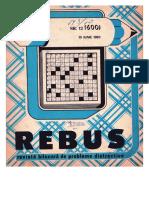 Rebus Nr 600 Din 1982
