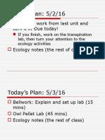 ecology notes ap