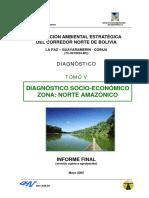 Evaluacion Ambiental Estrategica Del Corredor Norte de Bolivia Diagnostico Socio Economico y Cultural Norte Amazonico