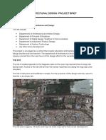 6 Semester Architectural Design Brief (4)