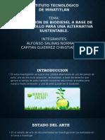 Presentacion Del Biodiesel