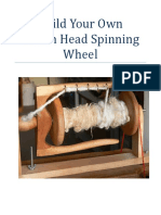 Indian Head Spinning Wheel