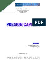 PRESION CAPILAR YACIMIENTO