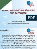 Perfil Religioso de São João Dos Patos