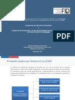 Apunte - Ley 20.903
