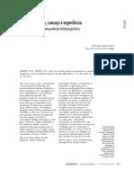 LURDORF e ORTEGA 2013 - Marcas No Corpo, Cansaço e Experiência - Nuances Do Envelhecer Como Professor de Educação Física