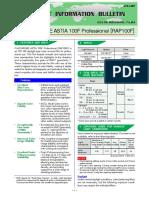 Astia 100f Datasheet
