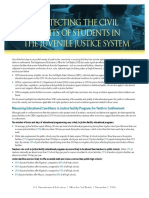 Protecting the Rights of Students in the Juvenile Justice System
