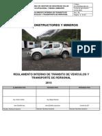 Reglamento de Transito Cym PDF