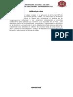 Albañileria Armada Informe
