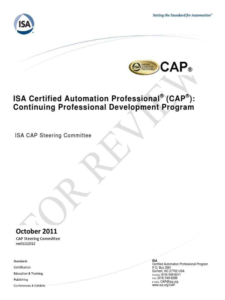 d9dac22ae7c CAP Continuing Professional Development Program