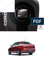 Manual de Usuario Seat Cordoba