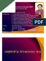Leadership 1 Entrepreneur