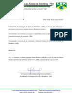 Portaria FKR 002-2017 - Dispensa Do Diretor Jurídico