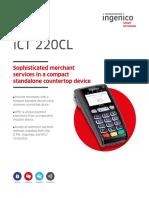 Ict220 Cl Data Sheet