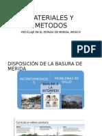 Presentacion Manejo de Desechos (Caso de estudio)
