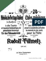 Tillmetz- Melodic Studies Op47_Dueto