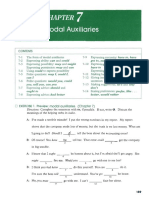 Chapter 7 Modal Auxiliaries