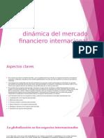 Dinámica Del Mercado Financiero Internacional
