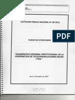 Pliego de Condiciones COTES Ltda.