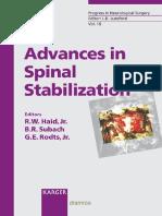 advances in Spinal Stabilization.pdf