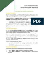 Formação Do Reino de Portugal Info