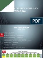 Presentación asignatura - IMAGENOLOGIA