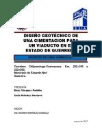 Plc-diseño Geotécnico Para Una Cimentación de Un Viaducto en El Edo. de Guerrero v.2.