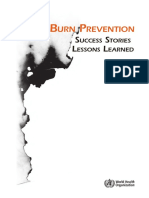 Burn Prevention