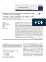 Installation and Capacity of Dynamically Embedded Plate Anchors as Assessed Through Centrifuge Tests 2014 Ocean Engineering