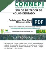 PROTÓTIPO DE BRITADOR DE ROLOS DENTADO