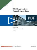 Bmc ProactiveNet Administrator Guide