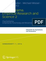 Christia Stadler, Michael Wieser, Kate Kirk -Psychodrama. Empirical Research and Science 2-Springer (2016)