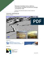 2015 Pescadero-Butano Watershed Technical Memo