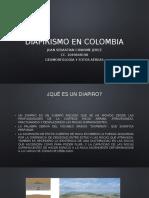 Diapirismo en Colombia