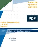 Quimica Agricola Clase Cero.
