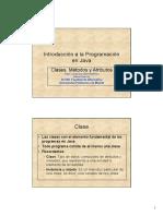 Clases Metodos y Atributos