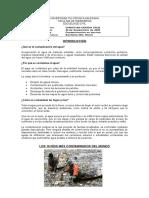 Contaminacion en Los Rios