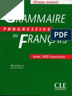 Grammaire Progressive Du Français - Avancé - CORRIGES