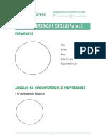 Geometria Plana Teoria - Ferreto Matemática