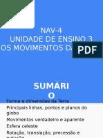 NAV4 Movimentos Da Terra