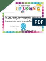 2015 Diploma