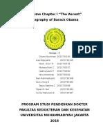 Tugas Bahasa Inggris Obama Kel 3