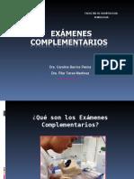 Exámenes complementarios.ppt