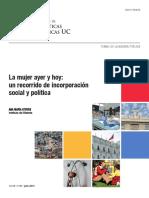 Ana Maria Stuven - La Mujer Ayer y Hoy Un Recorrido de Incorporacion Social y Politica