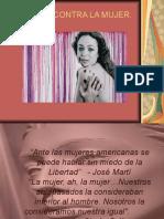 Presentacion Violencia Contra La Mujer y Sus Derechos